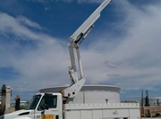 Double Man Bucket Truck